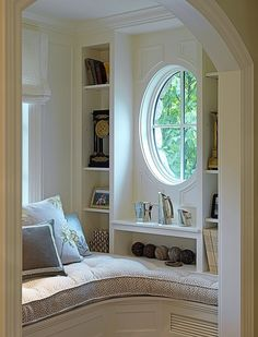 I like the idea of a comfy reading space in a house, but I'd want my reading corner/space to have a wider area to stretch out