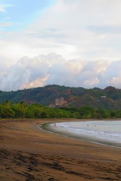 Coco beach right at the start of green season... so pretty! Check the link for an indepth guide to enjoying this little beach town http://mytanfeet.com/costa-rica-beach-information/the-ultimate-playas-del-coco-guide-by-mytanfeet-com/