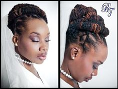 Attractive Locs Hairstyles For Wedding Of Styles Natural Hair And Offbeat Bride
