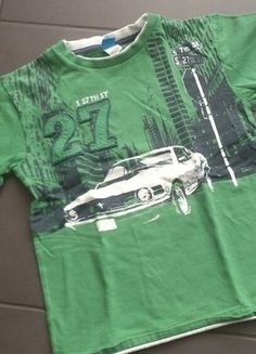 Kaufe meinen Artikel bei #Mamikreisel http://www.mamikreisel.de/kleidung-fur-jungs/kurzarmelige-t-shirts/27456574-t-shirt-mustang-grun-128-134-9-jahre