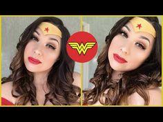 Wearable WonderWoman Makeup - Part 1 of a 2 Part Series   Phoenix Renata - YouTube