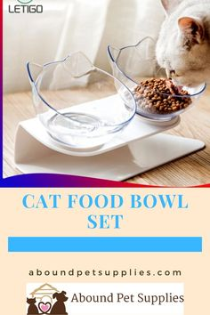 These cat food bowls are perfect for easy eating and licking. Raised cat food bowls with stand design lowers stress and pressure to your pet's joints and stomach. Promotes digestive health and makes mealtime more comfortable for your pets. The tilted cat food bowls are removable and easy to take out to wash and keep clean. Food Bowl, Cat Food, Bowl Set, Keep It Cleaner, Pet Supplies, Stand Design, Auntie, Breakfast, Health