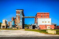 railroad yards Coffeyville Kansas