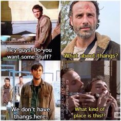 Thangs ..... Rick has to have thangs!!