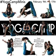 Yoga Camp Minis - Yoga Challenge with your kid, pet, or friend!