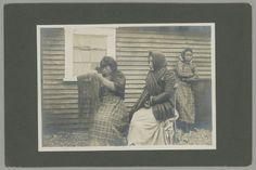 Aleut woman and girls - no date