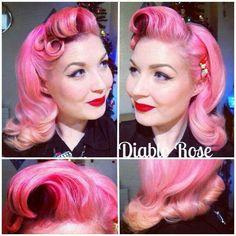 Diablo rose / hair