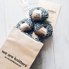 The Petite Wool in Spotted Black | We Are Knitters