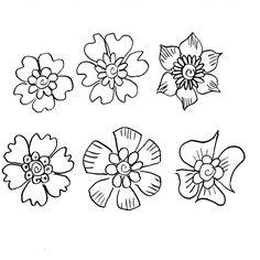 Deborah Leigh: Henna Inspired Flower Doodles