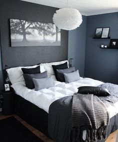 47 Brilliant Scandinavian Bedroom Design Ideas Schlafzimmer Raumtrenner More from my site SOUTH BY SEA Stylish Bedroom, Gray Bedroom, Home Decor Bedroom, Modern Bedroom, Master Bedroom, Contemporary Bedroom, Fancy Bedroom, Bedroom Rustic, Bedroom Alcove