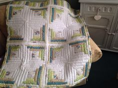 A personal favourite from my Etsy shop https://www.etsy.com/uk/listing/597770623/peter-rabbit-cotbed-quilt