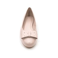 nude ballerina flats patent leather summer 2015 PASO a PASO