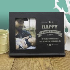 Dad's Personalised Frame Of Honour – Luxe Gift Store