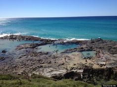 Who Needs Exotic When Aussie Beaches Look Like This:  Frazer Island