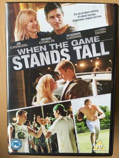 Jim #caviezel when the game stands tall ~ 2014 #american  #football drama uk dvd,  View more on the LINK: 	http://www.zeppy.io/product/gb/2/222270927654/