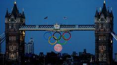 Londres 2012: La luna llena, inesperado sexto anillo olímpico