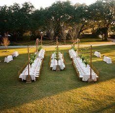Open- air dining | A Charleston Bride | http://www.acharlestonbride.com  Read more - http://www.stylemepretty.com/2013/07/30/charleston-wedding-from-50-photo-inkspot-crow-films/