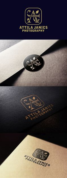 Logo design I've created for 'Attila Janics Photography'. Do you want to give your business a new look? Write me a message to: wintrygrey@hotmail.com My Works, Class Ring, Logo Design, Messages, Photo And Video, Business, Photography, Instagram, Attila