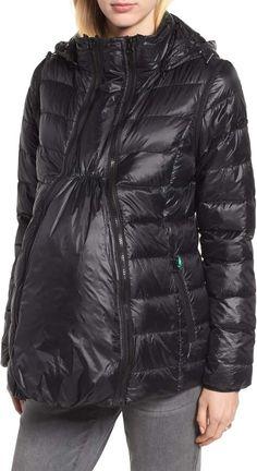 0b4c800e4996d Modern Eternity Lightweight Puffer Convertible 3-in-1 Maternity Jacket