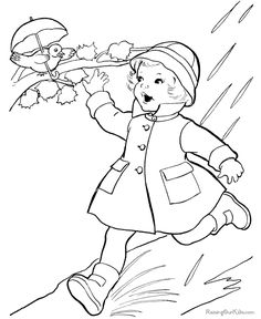 Cute free kid color pictures - Raising our kids