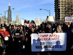 پرتشدد احتجاج کے باعث ڈونلڈ ٹرمپ کی ریلی منسوخ