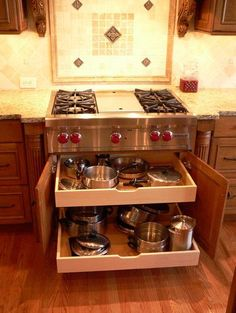 Storage Ideas traditional kitchen use with cooktop