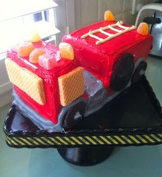 Firefighter Harris turns 3 | CatchMyParty.com