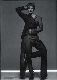 Numéro Homme, photographed by Jean-Baptiste Mondino