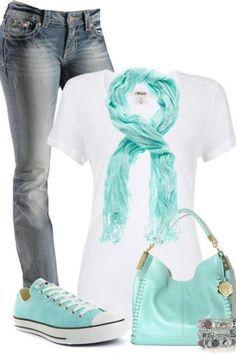 mint converse outfit - Hledat Googlem
