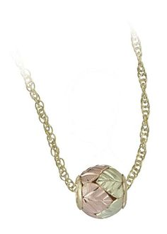 Black Hills Gold Ball Pendant