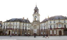 Rennes, France Centre Ville-- Rennes is the city that opened my eyes to the world when I moved there at age This is the opera house where I saw my first opera. Grandes Photos, Belle Villa, Open My Eyes, Study Abroad, Google Images, Places Ive Been, Opera House, Places To Visit, Louvre
