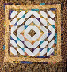 50th Golden Anniversary Memory Quilt