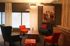 Great room conversation area