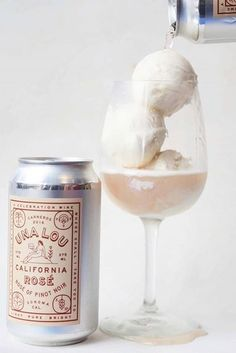 Our rosé obsession just hit its peak. We are dying to try this rosé ice cream, but it's only available to those lucky people living in San Francisco. Fingers crossed it makes it way to us soon.