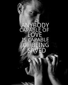 "Klaus & Caroline  "" anybody capable of love, is capable of being saved"" - vampire diaries"