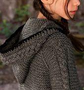 Ravelry: Modern Chain-Mail Hoodie pattern by Marilee Norris