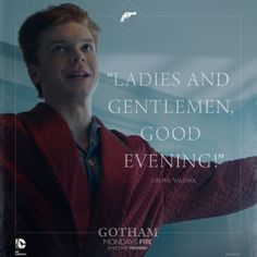 Ladies and Gentlemen,good evening #jeromevaleska #gotham #cameronmonaghan
