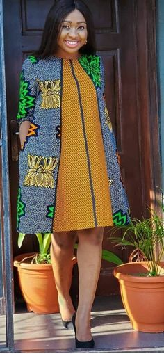 African Fashion Ankara, Latest African Fashion Dresses, African Inspired Fashion, African Print Fashion, Africa Fashion, Women's Fashion Dresses, Short African Dresses, African Print Dresses, African Attire