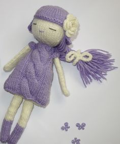 Knitted Doll Magic Dream Doll Knitted Toy Gift For от Radacraft