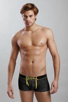 Mens Body Q John Trunk - Medium, Pink/black Men's Underwear from Hot Men, Hot Guys, Underwear Men, Male Body, Pink Black, Black Men, Trunks, Decorating, Medium