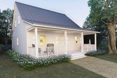 Cottage Style House Plan - 2 Beds 2 Baths 1616 Sq/Ft Plan #497-13 Front Elevation - Houseplans.com