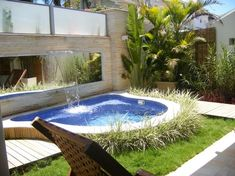 Gardens With Cool Swimming Pools
