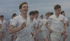 Chariots of Fire.  I know a lot of people do not like this movie  but I really love it.  I guess it is the historical aspect.