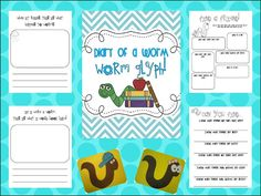 Diary of A Worm glyph!