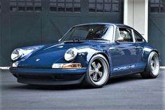 Pretty Porsche in blue.