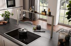 Küche Kitchen Island, Home Decor, Apartment Interior, Island Kitchen, Interior Design, Home Interior Design, Home Decoration, Decoration Home, Interior Decorating