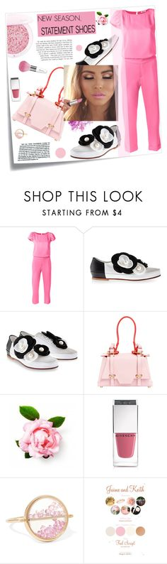 """""""New season: statement shoes!"""" by joliedy ❤ liked on Polyvore featuring Post-It, P.A.R.O.S.H., Pokemaoke, Guerlain, Niels Peeraer, Givenchy and Aurélie Bidermann"""