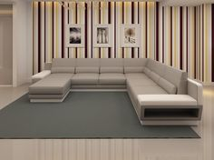 New Living Room Sofa Sectional Shape 69 Ideas Living Room Sofa Design, New Living Room, Living Room Modern, Interior Design Living Room, Living Room Designs, Leather Living Room Furniture, Contemporary Living Room Furniture, Sofa Furniture, Furniture Design