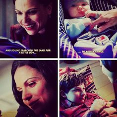 Regina and Henry, how I love their scenes... #evilregal #OUAT