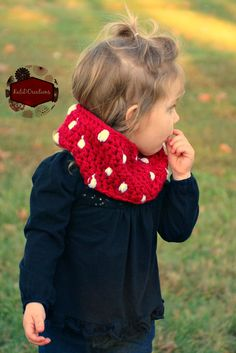 Puff Stitch Cowl free crochet pattern from KatiDCreations